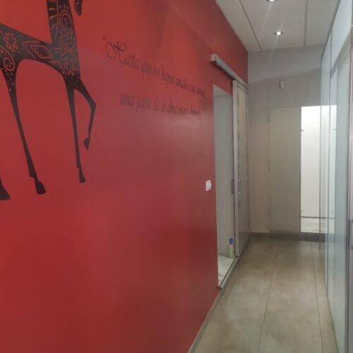 Zona interior de la clínica